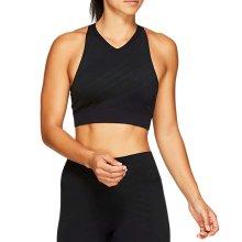 Asics Womens Ladies Running Fitness Training Seamless Sports Bra Black