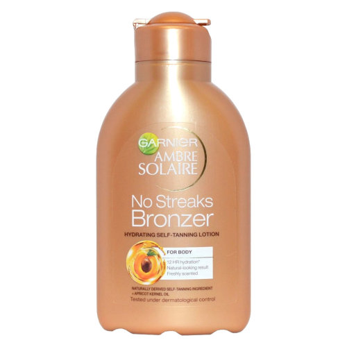 Garnier Ambre Solaire No Streaks Bronzer Self-Tanning Lotion - 150ml