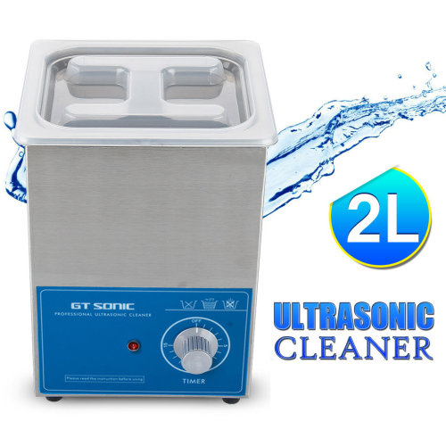 2L Stainless Ultrasonic Cleaner Ultra Sonic Heat Machine Timer