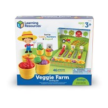 Learning Resources Veggie Farm Sorting Set