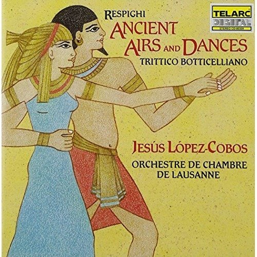 Lausanne Chmbr Orc/lopez-cobos - Respighi: Ancient Airs and Dance [CD]