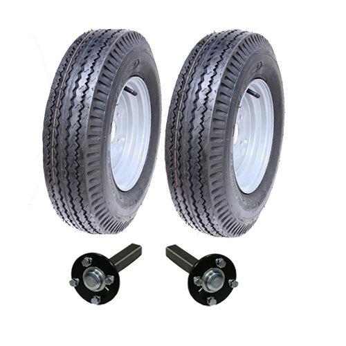 High speed trailer kit 5.00-10, road legal wheels + hub & stub axle