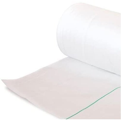 White Woven Weed Control Fabric Ground Cover Membrane Driveway Growing Fruit