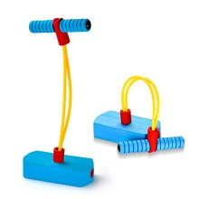 deAO High Elastic Foam Tension Tube Jumper for Kids and Adults with Squeaker and Elastic Rope-Great Present!