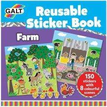 Reusable Sticker Book - Farm
