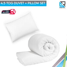 7T Baby Crib Cot Junior Bed Pillow & Duvet Bedding Set Anti Allergy