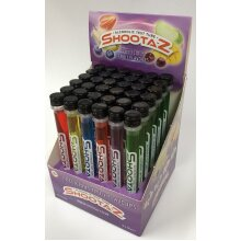 Shootaz Flavoured 14% abv Shots in a Test Tube | 36 tubes