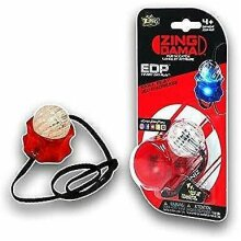 NEW Zing Dama Flip and Catch RED LED Skill Toy Play Challenge