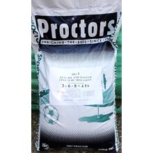 20kg Autumn & Winter Fertiliser Lawn Feed with iron to kill moss 571 sq metres