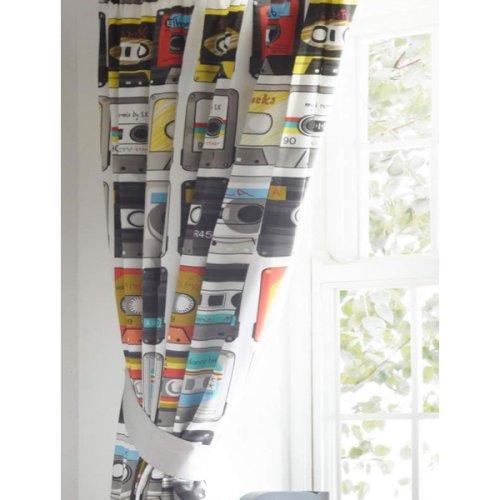 Retro Cassettes, Kids Curtains 54s