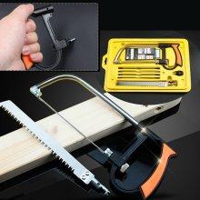 Multi functional Hand Steel Saw Hacksaw Metal Wood Glass Cutting Tool