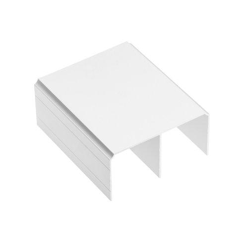 1x Aluminium Top Track 3m For Sliding Wardrobe Doors White