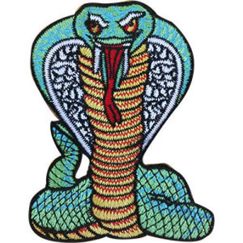 Patch - Animals - Cobra Icon-On p-dsx-4848