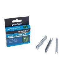 Bluespot 1000 U Staples - 12mm Suitable 1000pc Ushape Guns x Use Staplers -  12mm u staples suitable 1000pc ushape guns x use staplers