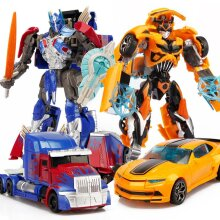 Transformers Robot Optimus Bumblebee Figures Toys