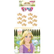 Stick The Tiara On The Princess Game