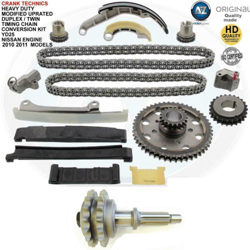 For Nissan Murano 2.5 TD YD25 Diesel Timing chain conversion kit duplex 2010+11