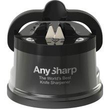 AnySharp Pro Chef Knife Sharpener Metallic Grey
