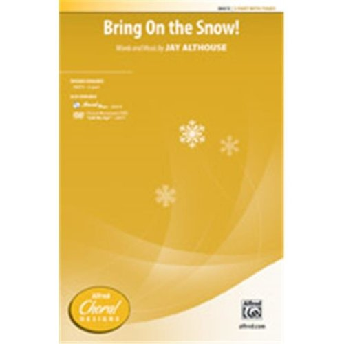 Alfred 00-38074 BRING ON THE SNOW-STRX CD