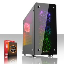 Fierce CHEETAH High-End Gaming PC - 4.5GHz Hex-Core Intel Core i7 8700K with various options