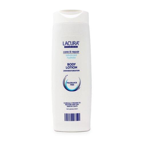 Lacura Intensive Body Lotion Fragrance Free Non Greasy Lotion - 400ml