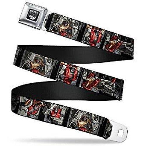 Seatbelt Belt - Transfomers - V.22 Adj 24-38' Mesh New tfae-wtf041