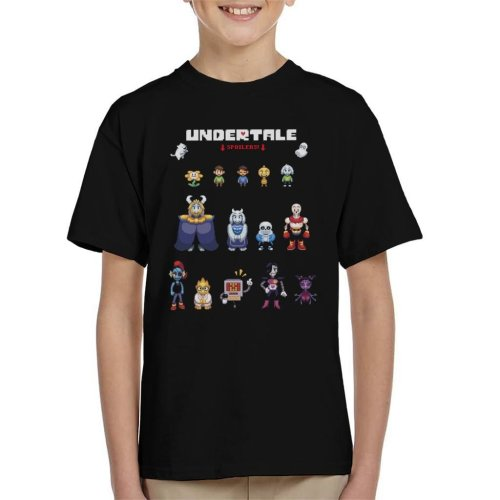 Undertale Spoilers Kid's T-Shirt