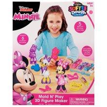 Cra-Z-Art Disney Minnie Mouse Mold N' Play 3D Figure Maker