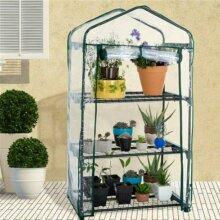 2/3/4/5 Tiers Mini Greenhouse PVC Plastic Garden Plant Flower Grow House Outdoor
