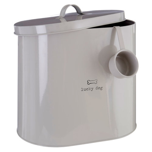 Lucky Dog 12 Litre Dry Animal Pet Meal Food Storage Bin Canister Container New