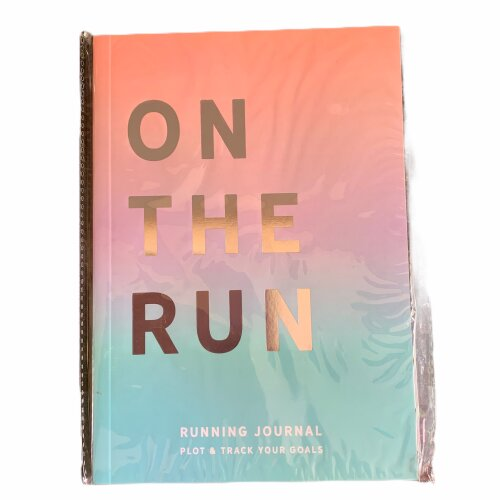 Running Journal On The Run Plot & Track Your Goals
