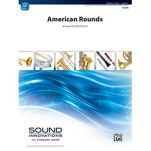 Alfred 00-36669 AMERICAN ROUNDS-SIB SET4D
