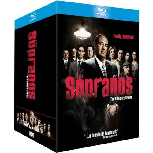 The Sopranos Seasons 1 to 6 Complete Collection Blu-Ray [2014]