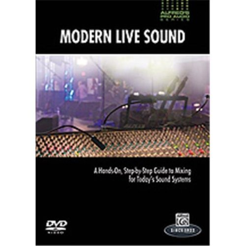 Alfred 00-33624 APAS-MODERN LIVE SOUND-DVD