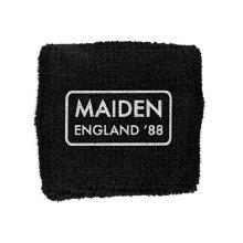 Iron Maiden Sweatband Maiden England band logo New Official black Cotton