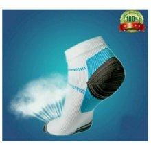 1pair New Miracle Foot Compression Sock Anti-Fatigue Plantar SOCKS