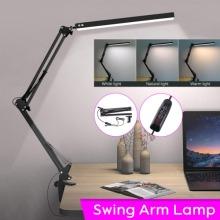 Adjustable Long Arm USB Desk Lamp Bed Reading Led Light