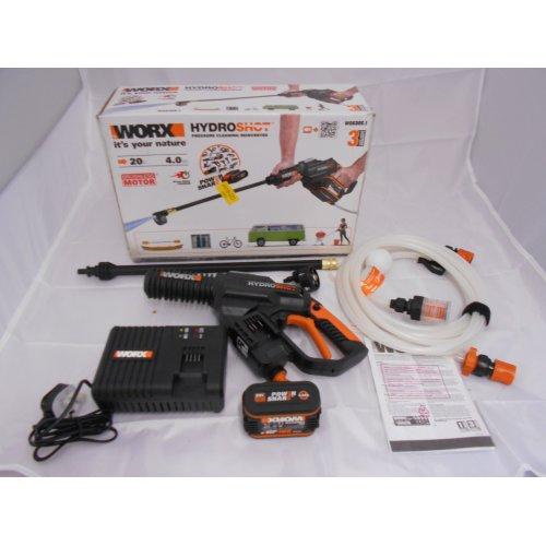 WORX WG630E.1 18V (20V MAX) 4.0Ah Cordless Brushless Hydroshot Pressure Cleaner