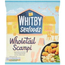 Whitby Frozen Wholetail Scampi - 8x225g