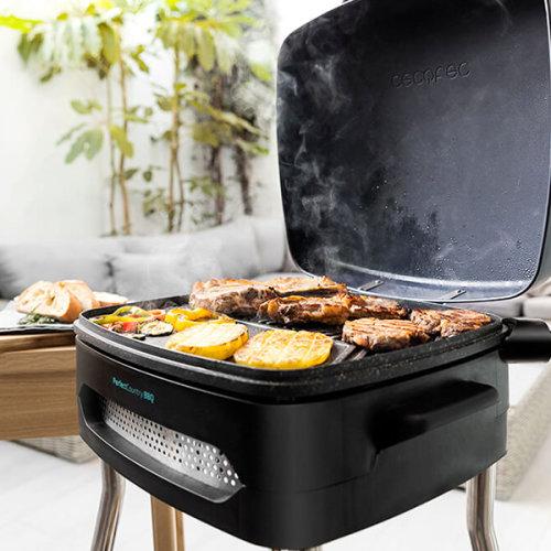 Electric Barbecue Cecotec PerfectCountry BBQ 2000W