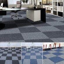 Carpet Tiles Home Retail Domestic Office Flooring Heavy Duty Box of 20 Tiles Mat