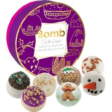 Bomb Cosmetic Handmade Christmas Style Bath Melts - Tis The Season