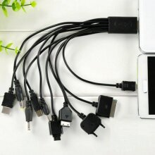 10 in 1 Universal Multi Charging USB Cable for Samsung Nokia Sony Mobile Phone PSP