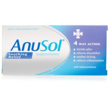 Anusol Soothing Relief Suppositories 12's