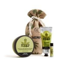 The Body Shop Hemp Expert Moisture Pouch Gift Set