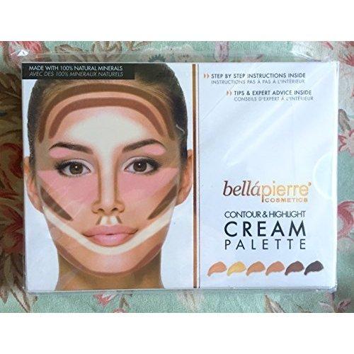Bella Pierre Cosmetics Contour Highlighting Cream Palette