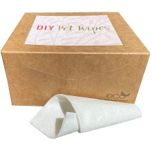 CannyMum Pet grooming wipes, pet towels, 200 cloths, compostable, plastic free, hypoallergenic