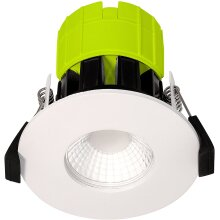 Luceco FType LED Downlight for Ceilings, 6 Watts, 4000K Colour Temperature