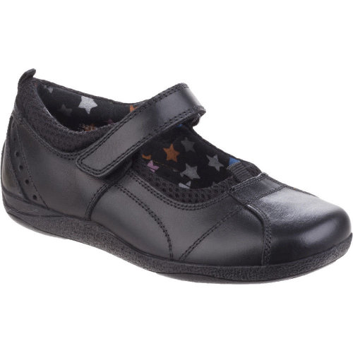 Hush Puppies Girls Esme Senior Patent Leather Back to School Shoes