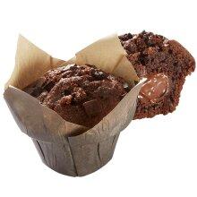 Bridor Frozen Chocolate & Hazelnut Muffins - 28x95g